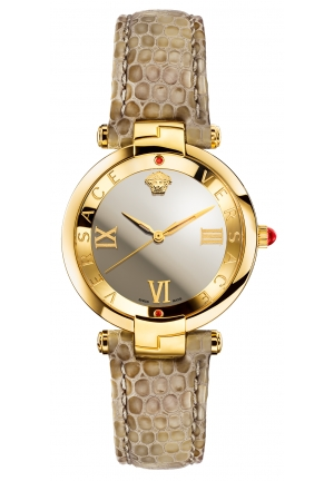 Versace Women Mirrored Dial Analogue Watch