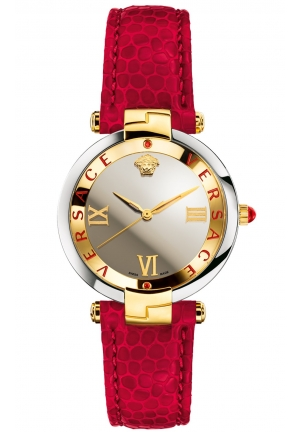 RÊVIVE RED LEATHER LADIES WATCH, 35MM