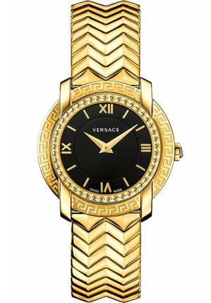 DV-25 LADY IP GOLD STAINLESS STEEL, 36MM