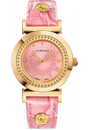 VANITY Analog Display Quartz Pink Watch 35mm