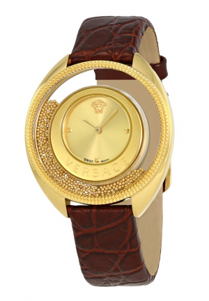 VERSACE DESTINY SPIRIT GOLD DIAL LADIES VAR080017, 36MM