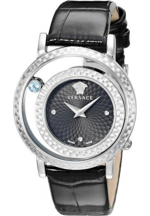 Versace Women's Venus Stainless Steel and Topaz Watch