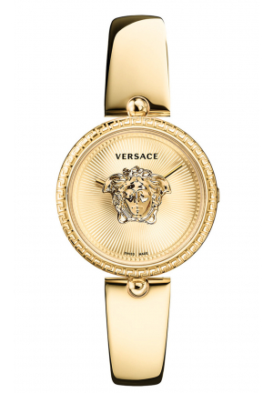 VERSACE PALAZZO EMPIRE SEMI BANGLE WATCH, 34MM