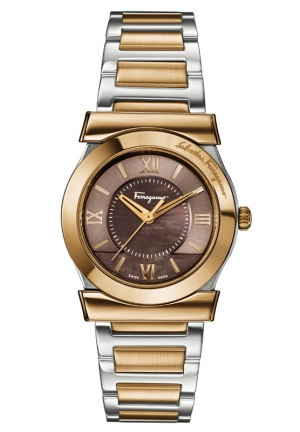 VEGA Analog Display Swiss Quartz Two Tone Watch 32mm