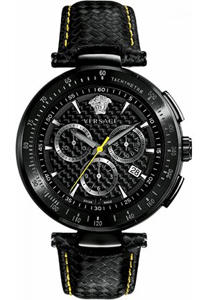 Versace Men's Chronograph Tachymeter Watch 43.8mm