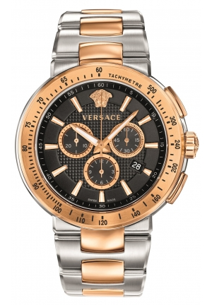 VERSACE Swiss Chronograph Mystique Sport Two-Tone 46mm