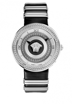 VERSACE V-Metal Icon Black 40mm