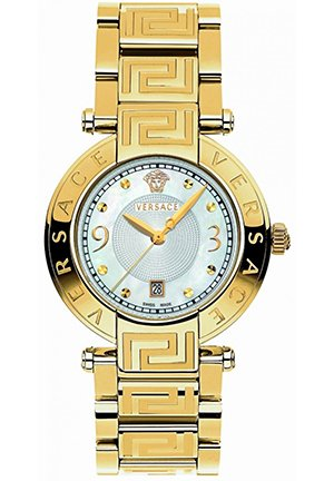 "Versace Women's ""Reve"" Gold-Plated Watch"