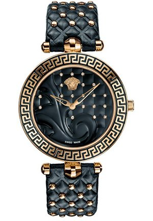 Versace Women's Vanitas Interchangable Strap Watch 40mm