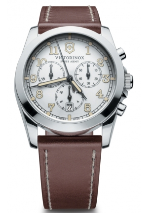 VICTORINOX SWISS ARMY Quartz White Dial Men's Watch 241568 40mm