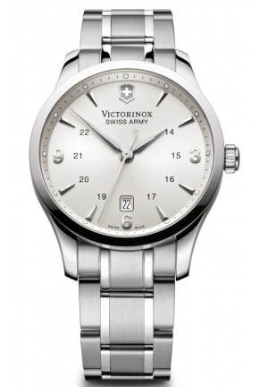 VICTORINOX SWISS ARMY Swiss Army Alliance Silver Dial Mens Watch 241667 40mm