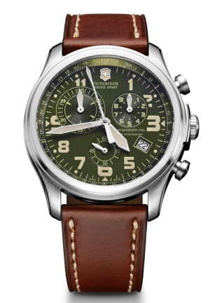VICTORINOX SWISS ARMY wiss Army Men's Infantry Vintage Chrono Watch 241287 44mm