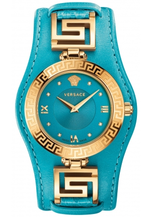 VERSACE Accent V-Signature Turquoise 35mm