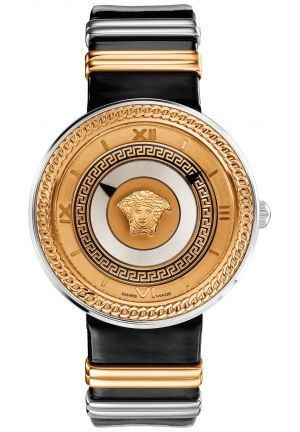 VERSACE Swiss V-Metal Two-Tone Accent 40mm