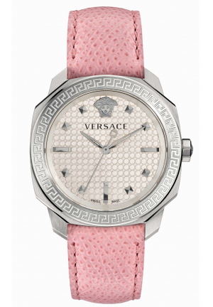 DYLOS WOMEN'S ANALOG DISPLAY SWISS QUARTZ PINK WATCH VQD010015, 35MM