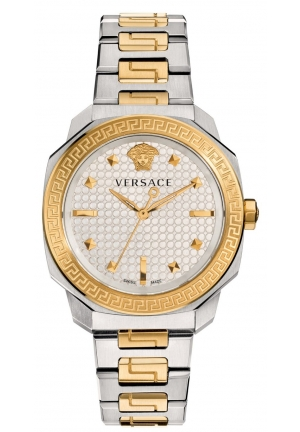 Versace Women's Dylos Two-Tone Stainless Steel Bracelet Watch 35mm