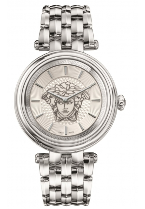 KHAI MEDUSA STAINLESS STEEL BRACELET WATCH, 38MM