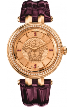 VERSACE V-Helix Rose Dial Ladies Watch