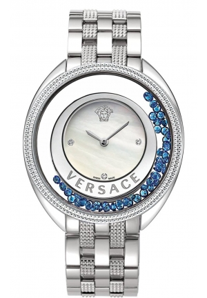 DESTINY PRECIOUS ANALOG DISPLAY SWISS QUARTZ SILVER LADIES WATCH , 39MM
