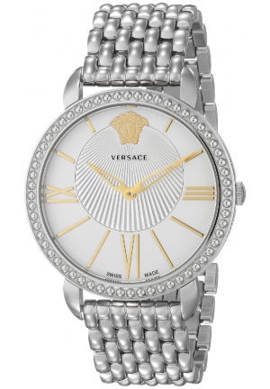 Versace Krios Collection Women's Stainless Steel Quartz Watch