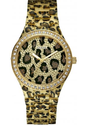 Guess  Ladies SEDUCTIVE Leopard Watch