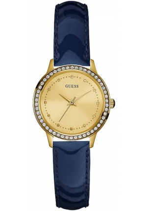 Guess Ladies Chelsea Leather Watch