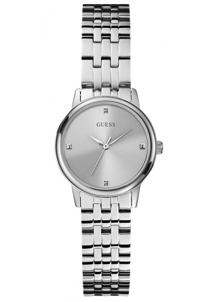 Guess Women's Watch Analogue Quartz Steel Silver