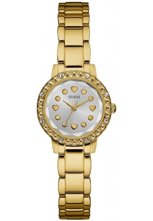 Guess Gold Stainless Steel IRIS Watch