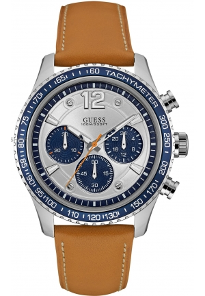Mens Guess Fleet Chronograph Watch