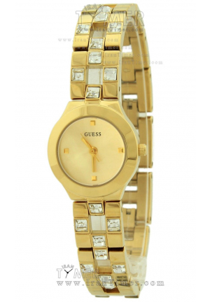 QUARTZ GOLD DIAL STAINLESS STEEL 22MM