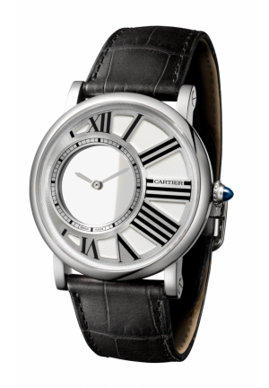 ROTONDE DE CARTIER MYSTERIOUS HOUR WATCH W1556224, 42MM