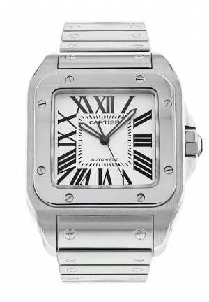 Cartier Santos 100 XL in Stainless Steel