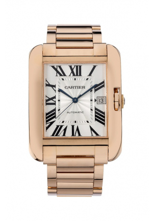 Cartier Tank Anglaise XL in Rose Gold