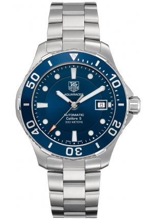 Men's Swiss Automatic Aquaracer Stainless Steel Bracelet 41mm WAN2111.BA0822