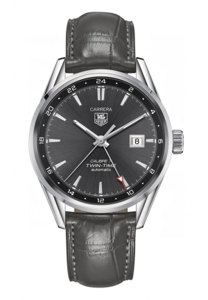 TAG HEUER CARRERA Calibre 7 Twin Time Automatic Watch 41 mm WAR2012.FC6326
