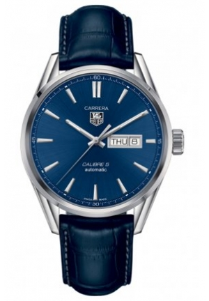 TAG HEUER TAG Heuer Carrera Calibre 5 Day-Date Automatic Watch 41 mm WAR201E.FC6292