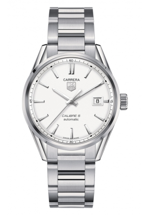 TAG HEUER CARRERA Calibre 5 Automatic Watch 41 mm WAR211B.BA0782