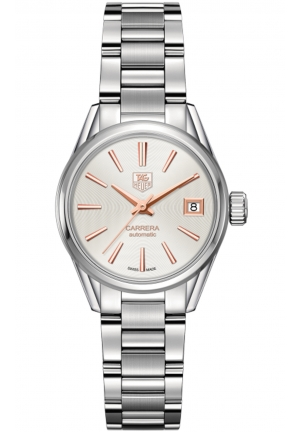 CARRERA STAINLESS AUTOMATIC LADIES WATCH WAR2412.BA0776, 28MM