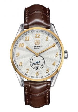 TAG HEUER CARRERA Calibre 6 Heritage Automatic Watch 39 mm WAS2150.FC6181