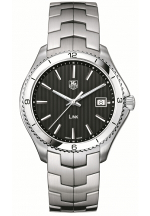 TAG Heuer Men's Link Black Dial Watch WAT1110.BA0950