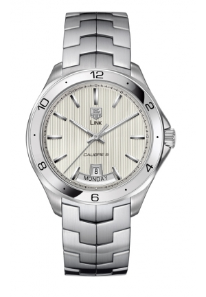 TAG HEUER LINK Calibre 5 Day-Date Automatic watch 42 mm WAT2011.BA0951