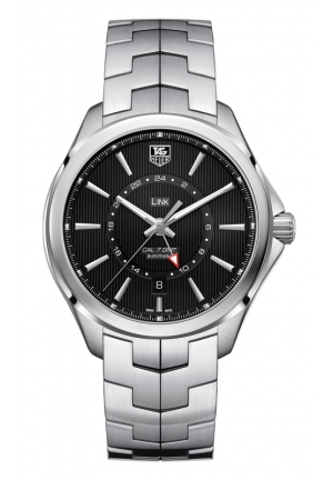TAG HEUER LINK Calibre 7 GMT Automatic Watch 42 mm WAT201A.BA0951