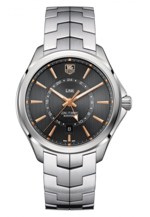 TAG HEUER LINK Calibre 7 GMT Automatic Watch 42 mm WAT201C.BA0951