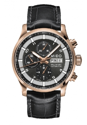 Watch Multifort Mens - Black Dial Automatic Movement 44mm