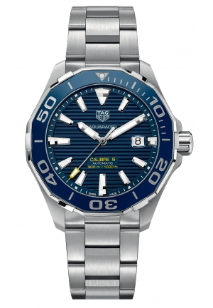 Aquaracer Calibre 5 Automatic Watch 300 M - 43 mm Ceramic Bezel WAY201B. BA0927
