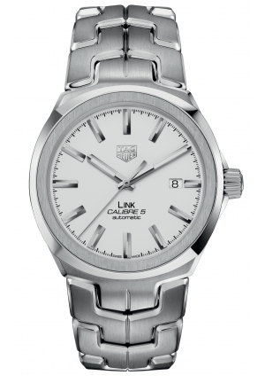 TAG HEUER LINK CALIBRE 5 AUTOMATIC WBC2111.BA0603, 41MM