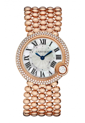 BALLON BLANC DE CARTIER WATCH 30 MM , WE902071