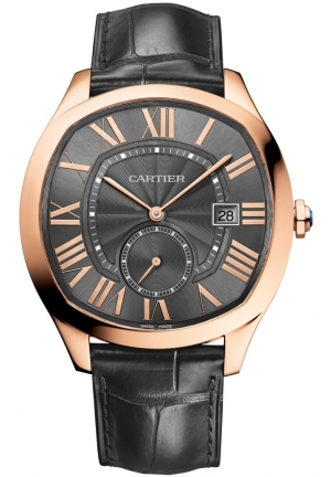 DRIVE DE CARTIER PINK GOLD MEN'S WATCH WGNM0004, 40 X 41MM