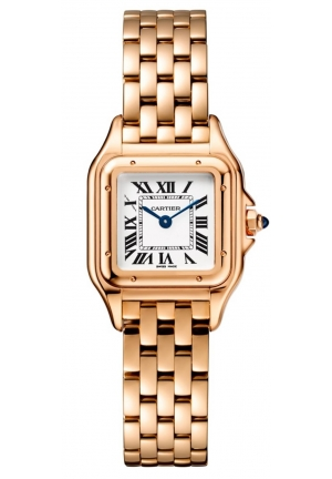 PANTHÈRE DE CARTIER WATCH SMALL MODEL, YELLOW GOLD WGPN0008, 22 X 30MM
