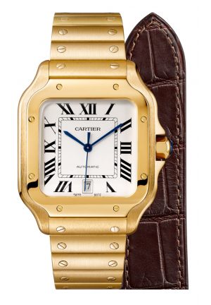 SANTOS DE CARTIER WATCH WGSA0010, 35.1MM